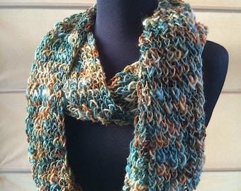 Merino Wool Knitted Scarf