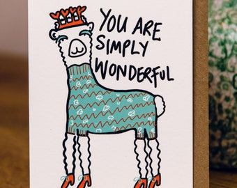 You are Simply Wonderful