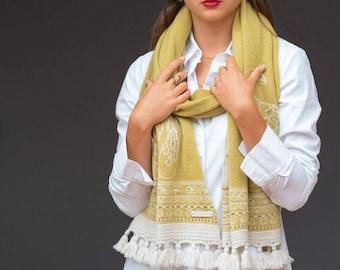 Fingal cashmere scarf