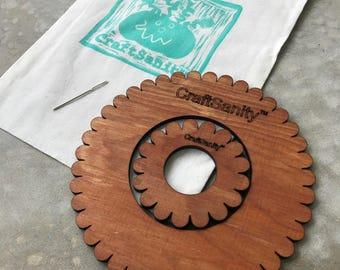 CraftSanity™  Circular Weaving 2-Loom Set