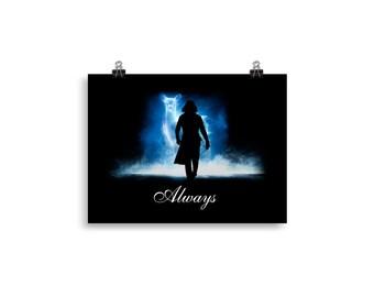 Severus Snape Always Custom Harry Potter Fan Poster