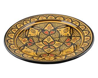 Fruit bowl Yellow H 15 cm Ø 42 cm