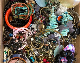 Junk Drawer Lot, Vintage Jewelry