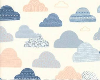 Wild & Free Cloudy Skies Cloud 35313 11  by Abi Hall For Moda