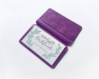 5 Inexpensive Gift Card Holders | Inexpensive Business Card Holders | Discount Card Holders