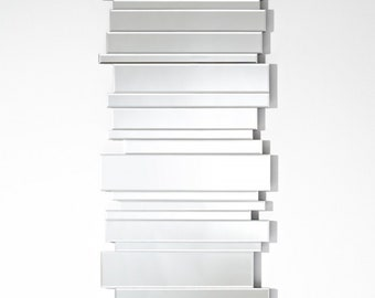 Miroir design Side By Side Modern Rectangulaire Naturel 70x150 cm