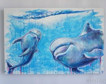 Dolphin Dreams -Original Painting