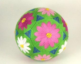 Japanese Temari Ball Handmade  Decor Gift