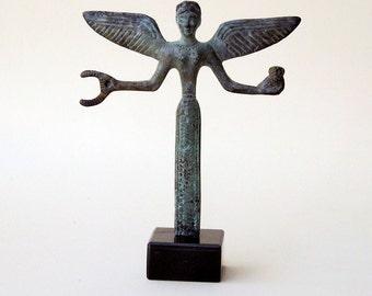Bronze Statue of Victory, Greek Nike, Bronze Sculpture, Metal Art Sculpture, Museum Quality Art, Greek Mythology, Goddess of Triumph