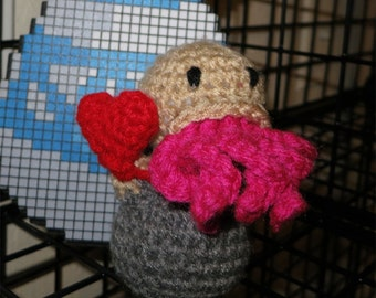 Valentine's Doctor Who - Inspired Heart Ood Plush