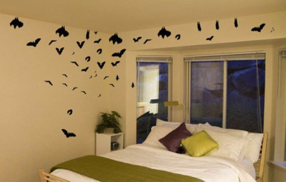 Soar and Slumber Bat Pack Vinyl Wall and Car Art