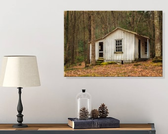 Country Cottage Art - Rustic Living Room Wall Decor - Smoky Mountains Art - Tennessee Wall Art - Rustic Wall Canvas - Country Cottage Decor