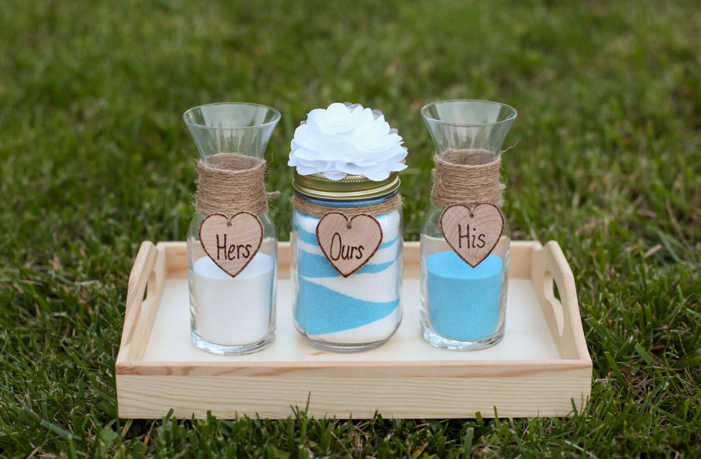 Personalized rustic wedding unity sand ceremony set custom zoom reviewsmspy