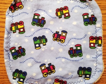 Baby Washcloth- Trains