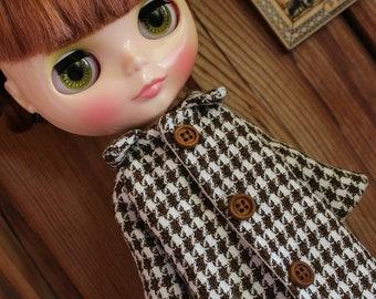 Blythe Coat, Blythe Clothes, Blythe Clothing, Blythe Outfit, Blythe Doll, Blythe Winter Clothes, Blythe Crochet, Blythe