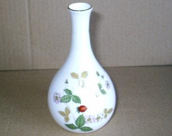 Wedgwood Wild Strawberry Bud Vase
