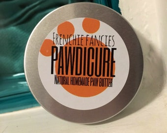 Pawdicue/ natural paw butter/ dog moisturiser/ paw balm/ paw butter