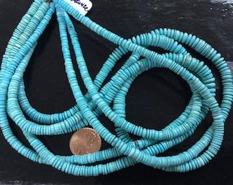 Arizona Turquoise Sleeping Beauty Tires Smooth