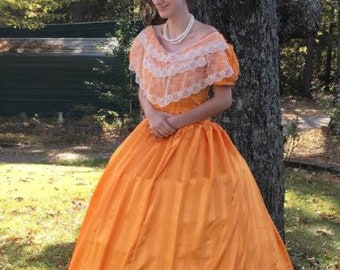 MADE TO ORDER Civil War/Victorian Era Ballgown