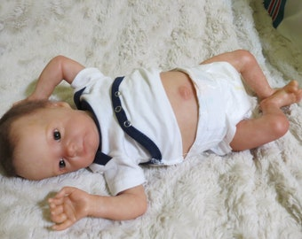 """Reborn Baby, """"Presley"""", First Edition Tink kit by Bonnie Brown, Ready to Ship, Life-like Baby Doll"""