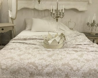 """Damascus"" Cotton piquet bedspread"