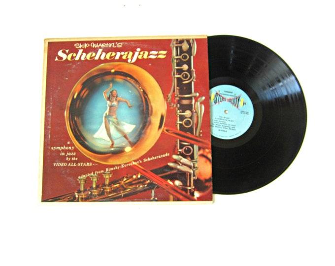 Skip Martin's Schherajazz Vinyl Album 12 Inch LP Vintage Somerset Jazz Music Record Album