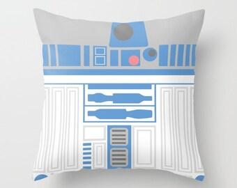 Star Wars Pillow, R2-D2 Pillow, Artoo Pillow, Artoo Cushion, Artoo Pillow, Star Wars Decor