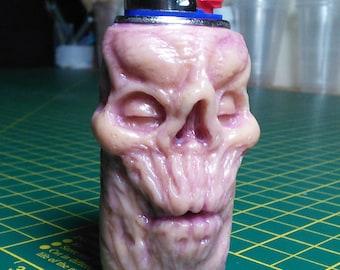Zombie Head Lighter Sleeve