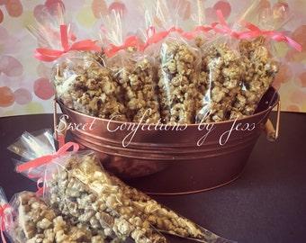Caramel & candy  Pop Corn Favors