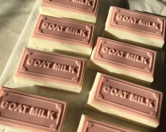 Cranberry Goat Milk Soap w/ Cranberry Seeds
