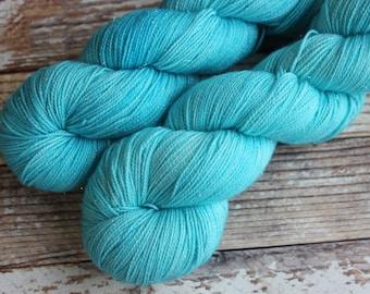 Brillante - Still Waters - Hand Dyed Yarn - 75/20/5 Superwash Merino/Nylon/Stellina