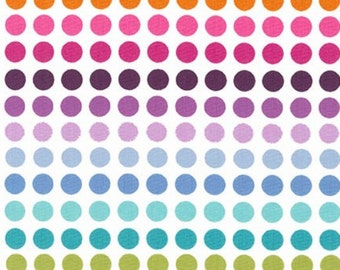 Rainbow Dots from Robert Kaufman's It's Showtime Collection by Pink Light Designs