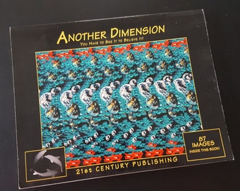 Another Dimension 3D Illusion Book Vintage