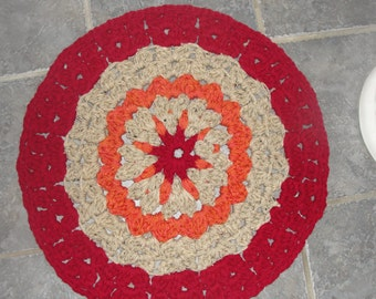 Bathroom scatter rug