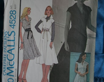 Mccalls pattern 4528 size 14 dress Easy to sew stretch knits