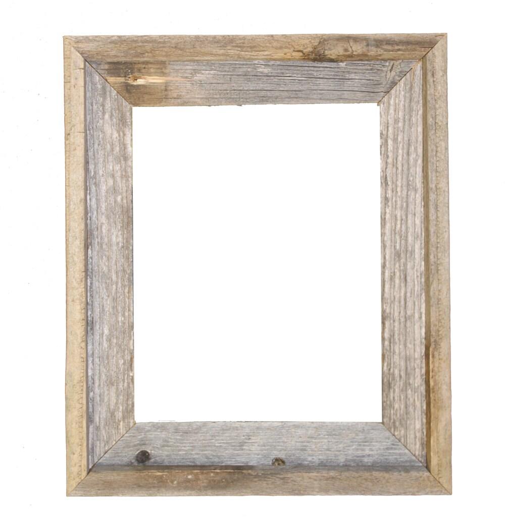11x14 2 wide barnwood reclaimed wood open frame no zoom jeuxipadfo Image collections