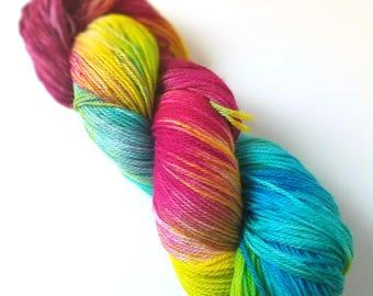 Untitled 04 - Postscript Fingering - Hand-Dyed Sock Yarn