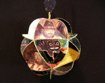 Charlie Daniels Band Album Cover Ornament Made Of Record Jackets - Southern Rock Music