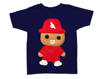 Rad Rapper - Kangaroo - Kids T-Shirt [Navy]