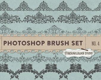 Photoshop Brushes Sweet Ornament Borders No. 4