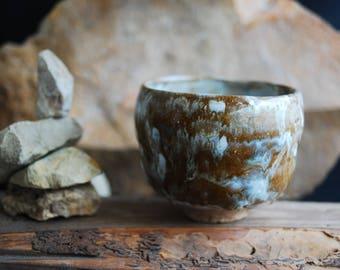 Big ceramic chawan teabowl for tea ceremony