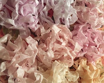 """Crinkled Seam Binding 15 Yards(45Feet)""""""""You Pick Color-Most Popular"""" 26 Colors To Choose From""""-By Not Too Shabby"""