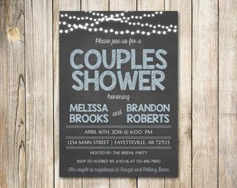 Couples shower invitation etsy couples shower invitation wedding filmwisefo