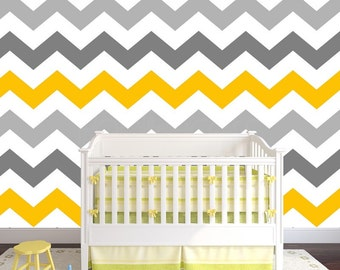 Just Peel And Stick Chevron Wallpaper