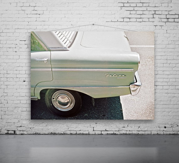 Original Vintage Falcon Car Photography, FILM Photography Car Photo, Green  Sorbet Vintage Car, Old Ford, Old Falcon Car Photo, Gift For Male