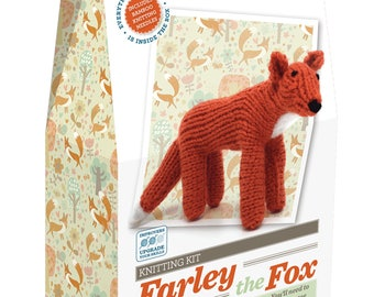Farley Fox Knitting Kit
