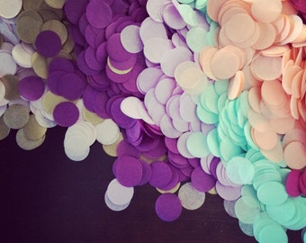 TISSUE PAPER CONFETTI / cake dessert table wedding send off exit tossing floating decorations balloon fill biodegradeable flower girl petals