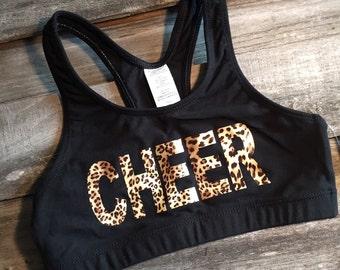 Cheer Sports Bra, Top Seller, Custom Sports Bra, Youth Sports Bra, Practice Wear