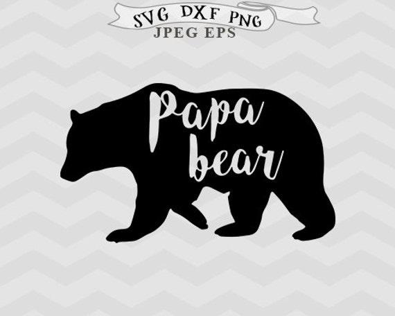 View Teepee Family Cut File, Mama Bear, Papa Bear, Baby Bear, Brother Bear, Sister Bear Image
