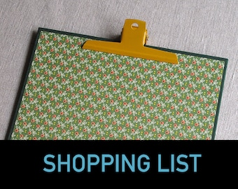 98. SHOPPING LIST